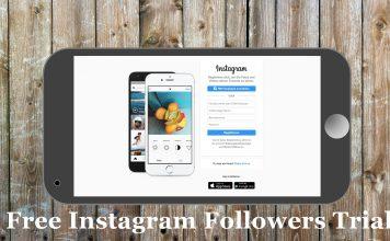 Free Instagram Followers Trial