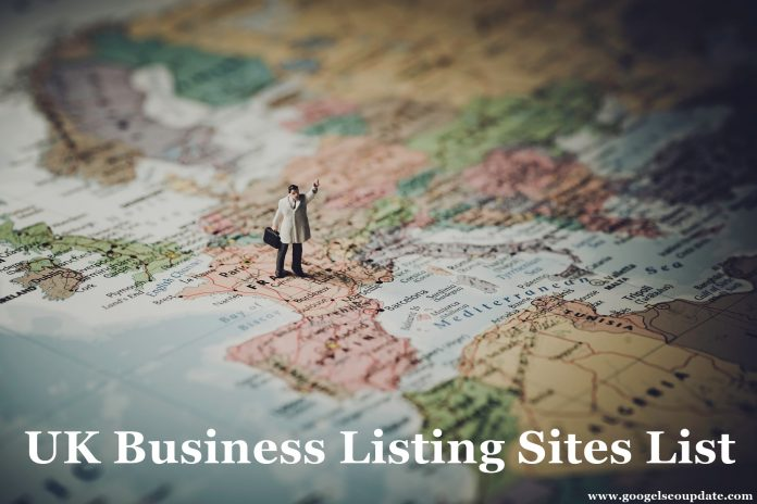 Top 70 UK Business Listing Sites List