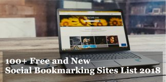 100+ Free and New Social Bookmarking Sites List 2018
