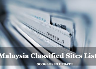 Malaysia Classified Sites List