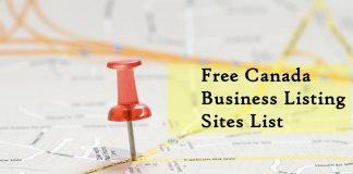 Free Canada Business Listing Sites List 2018