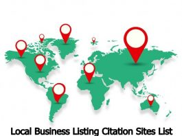 Local Business Listing Citation Sites List