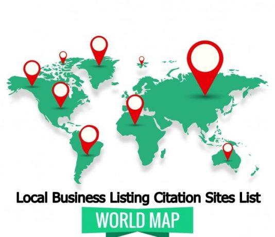Local Business Listing Citation Sites List