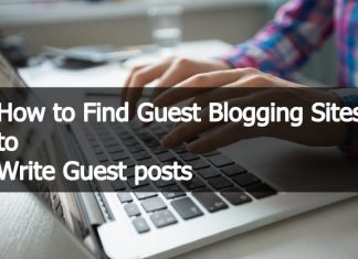 How to Find Guest Blogging Sites to Write Guest posts