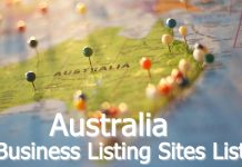 Australia Business Listing Sites List